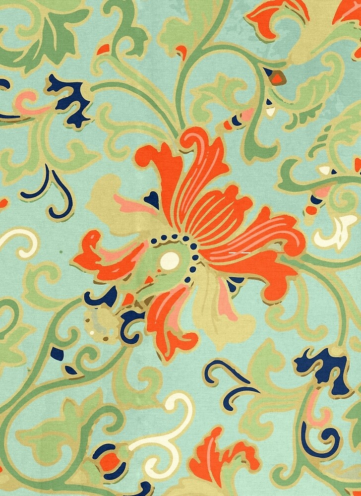 Cute Happy Summer Floral Abstract Pattern Art Vintage Asian Amazing Asian Patterns
