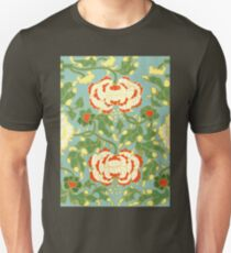 Happy Summer Floral Abstract Pattern Art - Cute Vintage Asian Patterns Drawings Unisex T-Shirt
