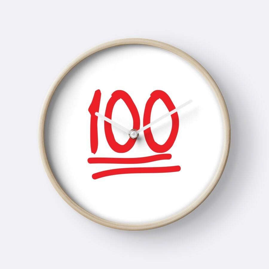 100 emoji clocks by totesemotes redbubble 100 emoji by totesemotes buycottarizona
