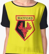 WATFORD FC Women's Chiffon Top