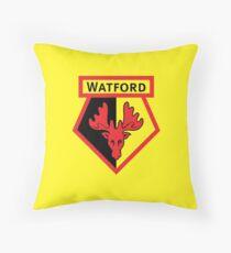 WATFORD FC Throw Pillow