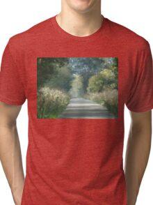 Road back home Tri-blend T-Shirt
