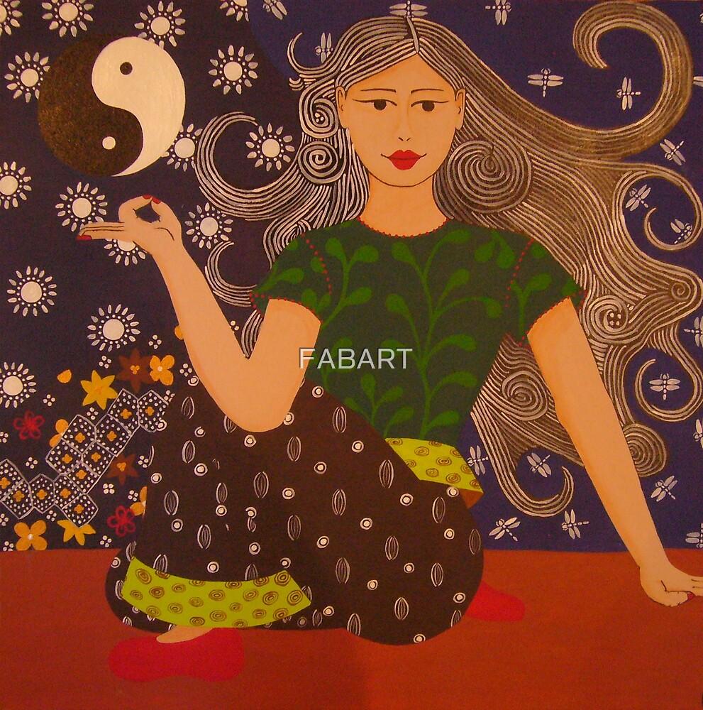 Yoga Girl #2 by FABART