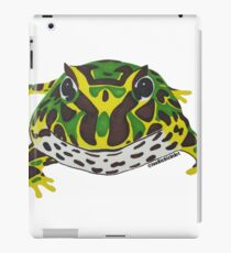 Pac Man Frog iPad Case/Skin