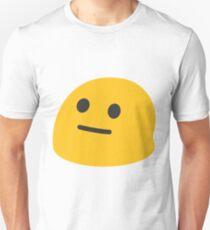 Neutral face emoji Unisex T-Shirt