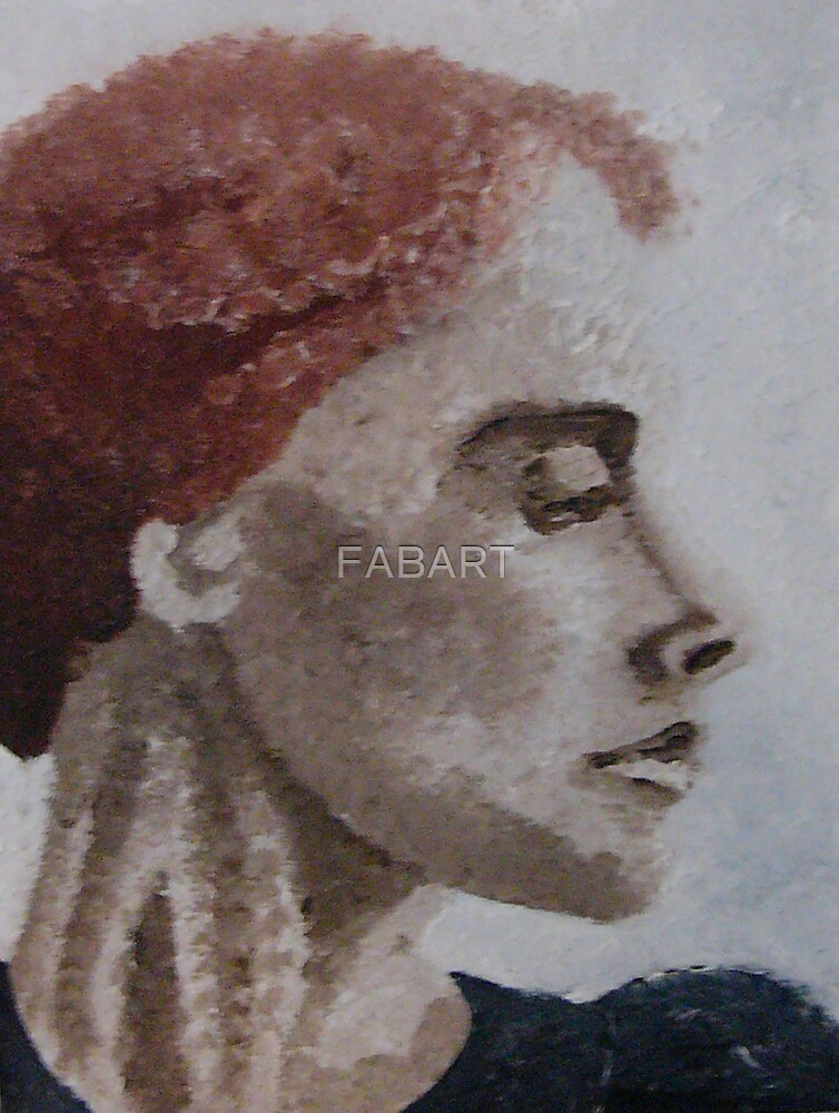 Woman by FABART