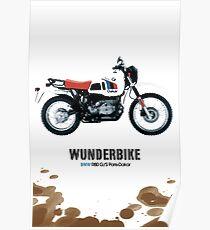 B M W R80GS Poster