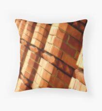 Brickwork Throw Pillow