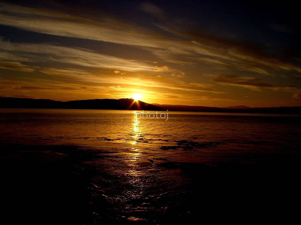 Tasmania Sunset by photoj