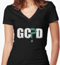 GC?D  Women's Fitted V-Neck T-Shirt