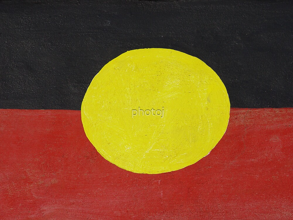photoj  Native Australia Flag, Art by photoj