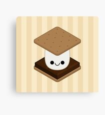 Kawaii Smore Canvas Print