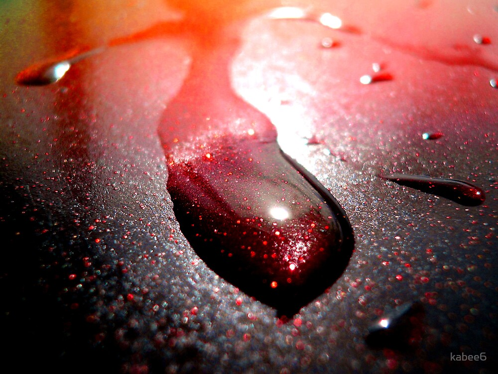 red drop by kym banks
