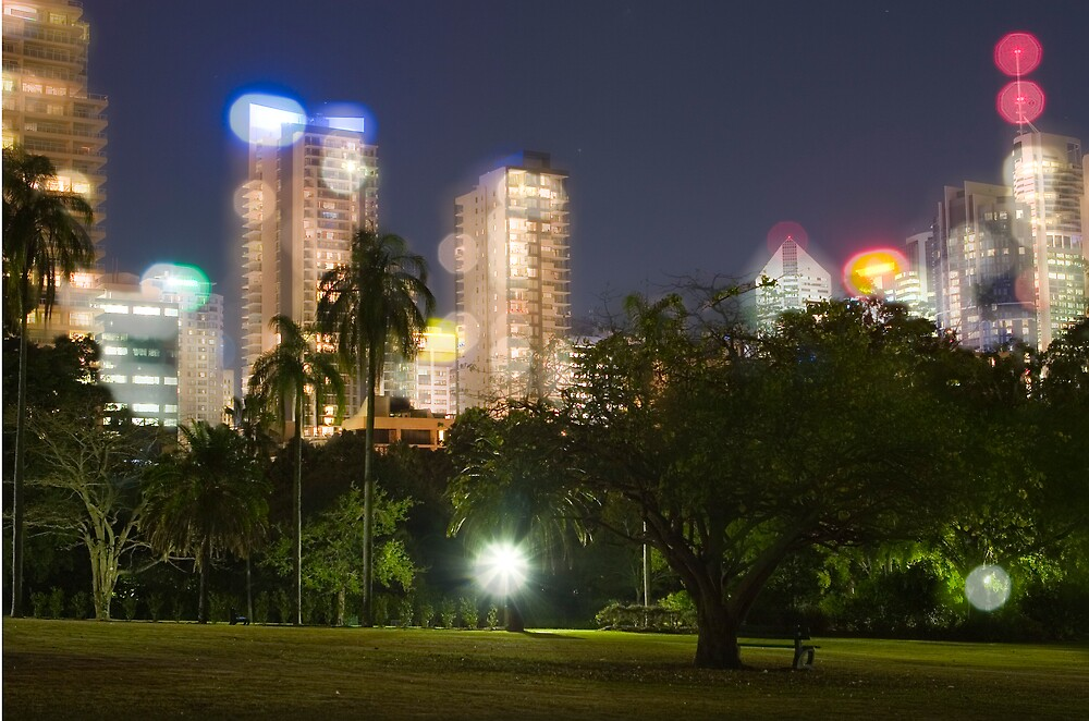 Bright lights in a little city 7 by ellevrg