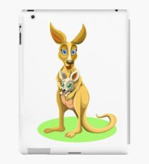 Cute kangaroos iPad Case/Skin