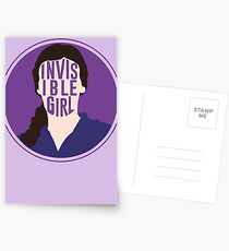 Invisible Girl Postcards