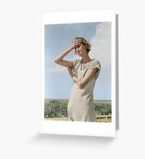 Dorothea Lange Greeting Card