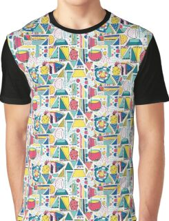 Modern Pop Art Graphic T-Shirt