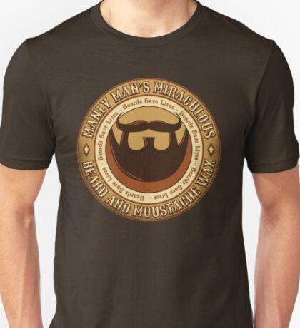 Manly Beard Wax T-Shirt
