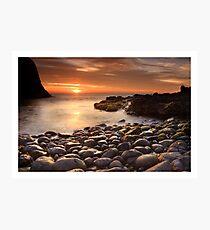 Sun and Stone Photographic Print