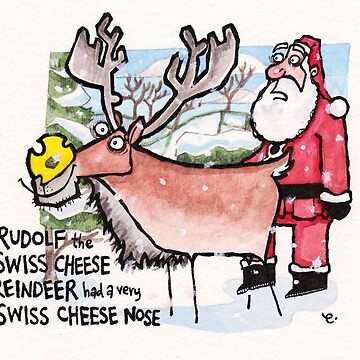 Swiss Cheese Nose by dotmund
