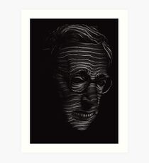 Woody Allen Portrait Art Print