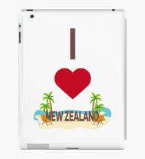 I love New Zealand iPad Case/Skin