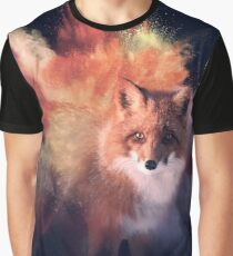 Explosive fox T-shirt graphique