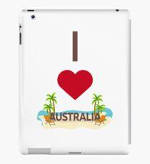 I Love Australia iPad Case/Skin