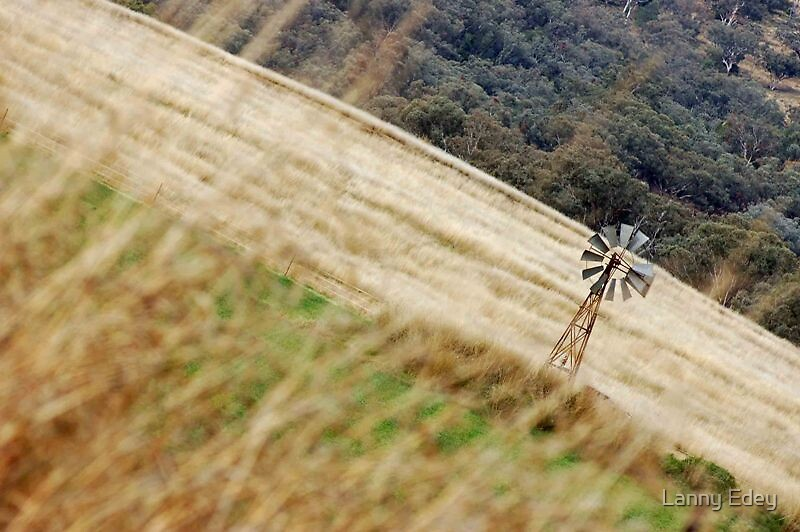 Windmill and Country by Lanny Edey