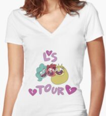 Love Sentence Replica Concert Tees Women's Fitted V-Neck T-Shirt