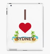 I Love Sydney. Australia iPad Case/Skin