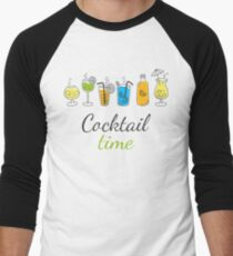 Cocktail Time Drink Text Funny Sentence T-Shirt