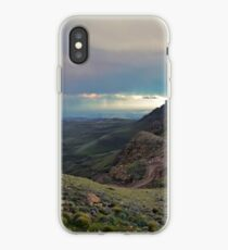 Stormfront over Sani Pass iPhone Case