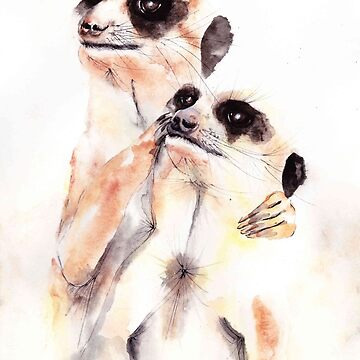 "246. ""Paddy and Peanut"" by mviljoenart"