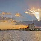 Sunset at North Shore Park  by John  Kapusta