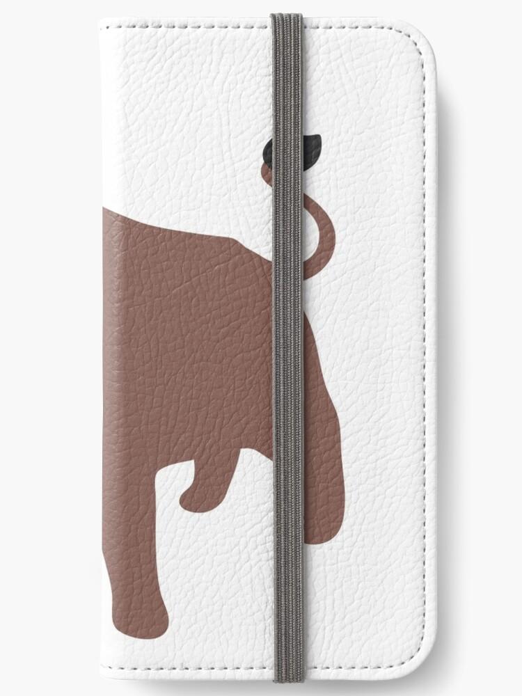 'Bull emoji' iPhone Wallet by totesemotes