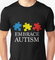 Embrace Autism- Autism Tee Shirts T-Shirt