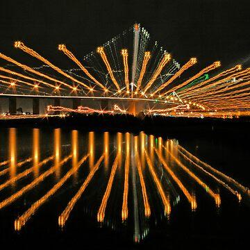 Westgate Bridge, Melbourne by SpazzyPC