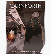 Brief Encounter Carnforth Station Poster