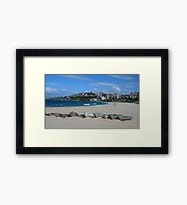 Coogee Beach Framed Print