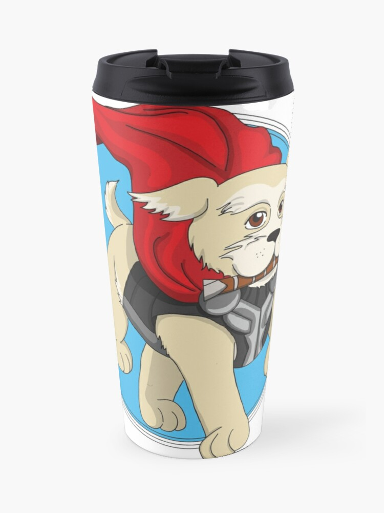FluffyTravel Mug Thor I Am Dog Pnkw0O8