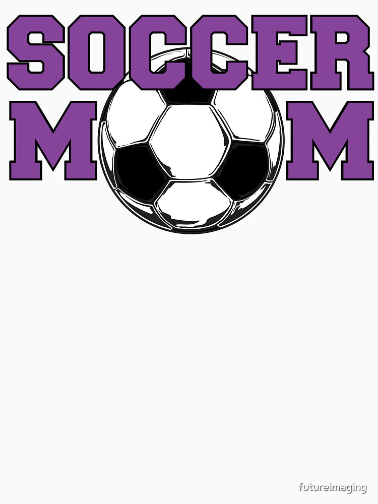 'Soccer Mom' in Purple by futureimaging