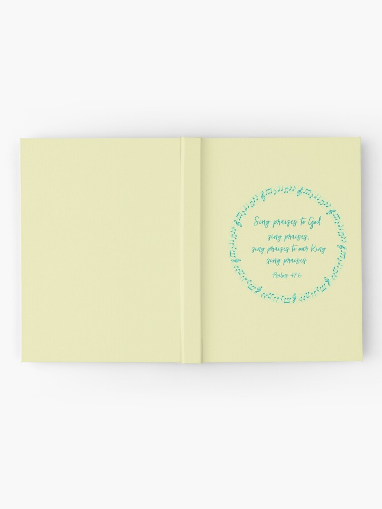 Psalms: Sing Praises to God | Hardcover Journal