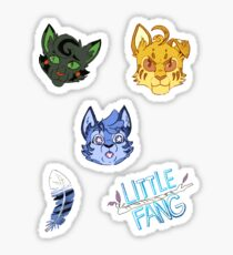 Little Fang Sticker Set 1 Sticker