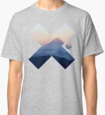 Cool Modern Volcano Landscape X Fashion Photography Clothing Design Classic T-Shirt