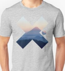 Cool Modern Volcano Landscape X Fashion Photography Clothing Design T-Shirt