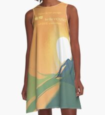 Dune The Spice must flow A-Line Dress