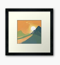 Dune The Spice must flow Framed Print