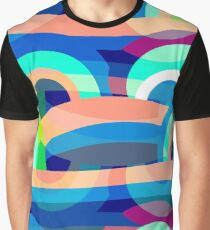 Marine abstraction Graphic T-Shirt
